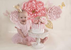 Adelaide based Accredited Professional Photographer Jennifer White Photography Cake Smash Photo Shoot